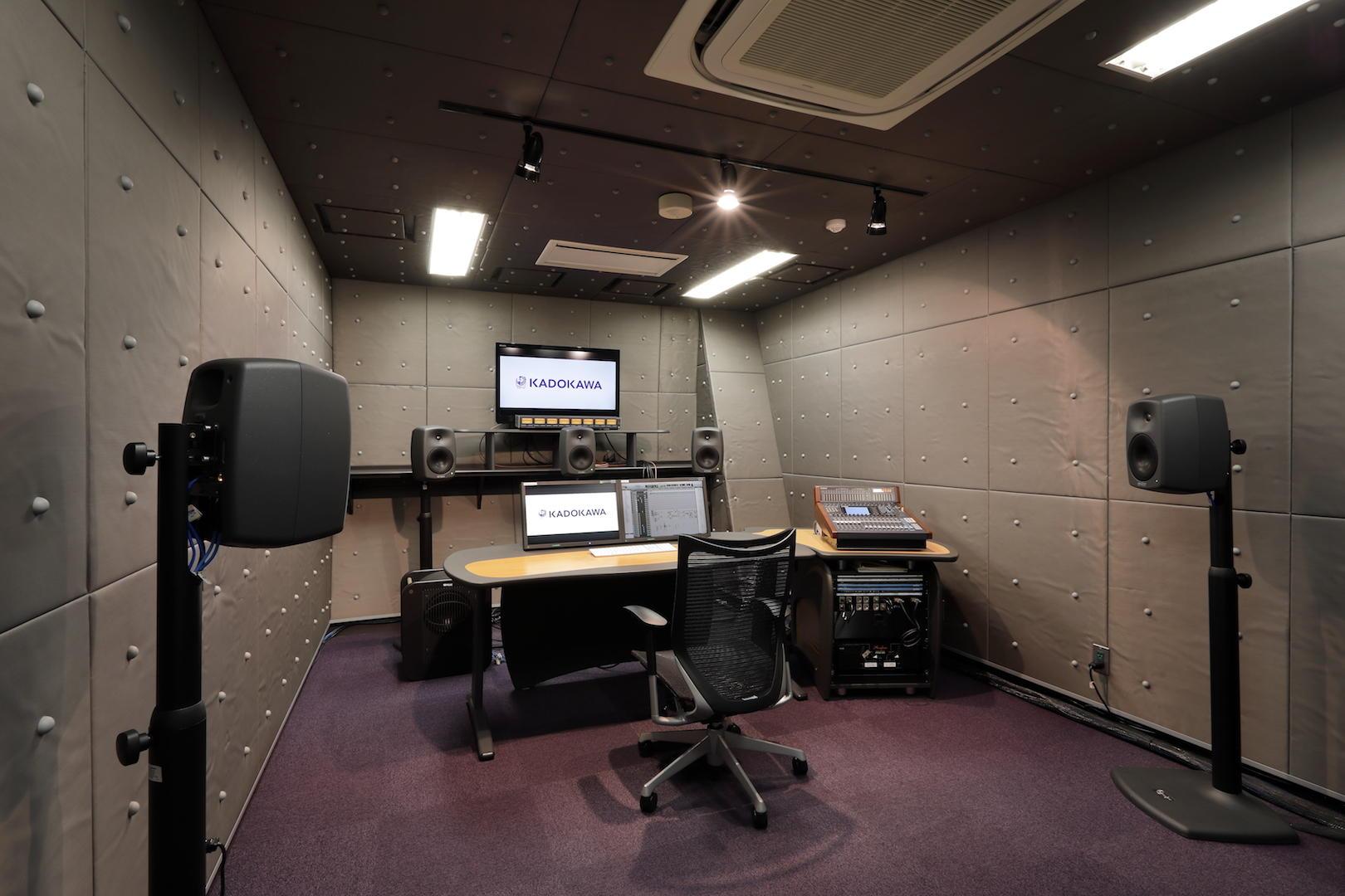 サウンド編集室1・2